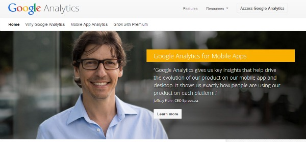 Online Marketing Tools - Google Analytics