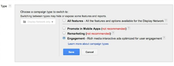 Google Plus Advertising Create Engagement Adwords Campaign Ads
