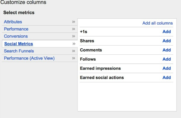 Google Plus Advertising Create Social Metrics