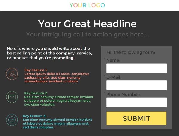 Dynamic Content LeadGenPage