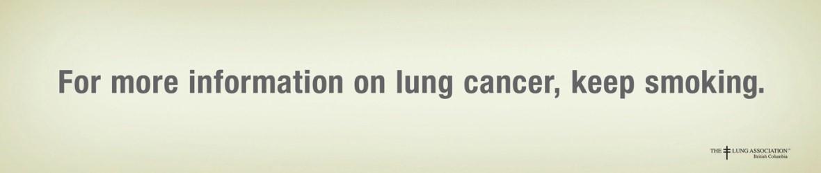 Creating Effective Banner Ads - smoking