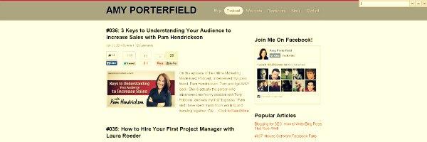 Amy Poterfield Marketing Podcast