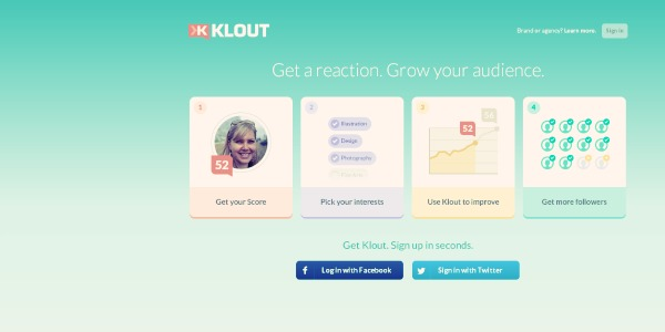 Content Discovery Tools - Klout