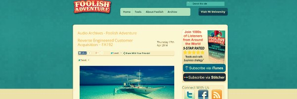 Foolish Adventure Marketing Podcast