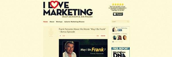 I Love Marketing Podcasts