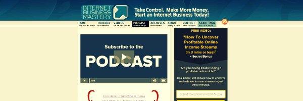 Internet Business Mastery Podcast - Marketing Podcasts