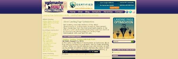 Landing Page Optimization Marketing Podcast