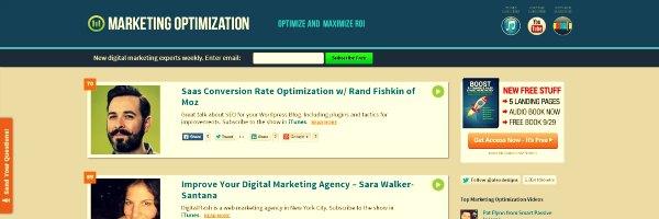 Marketing Optimization Podcasts