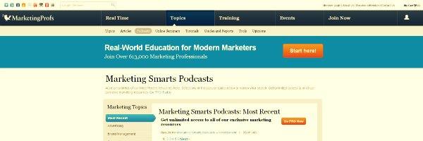 Marketing Smarts - Marketing Podcasts