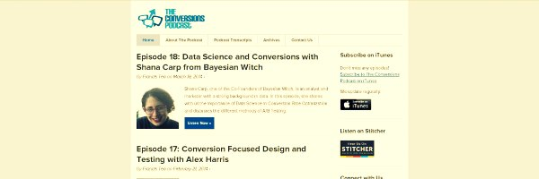 The Conversions Marketing Podcast