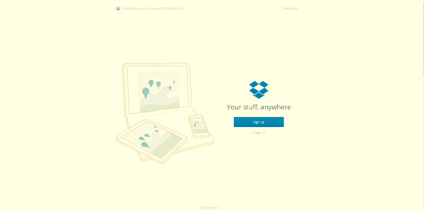 How to Write - DropBox