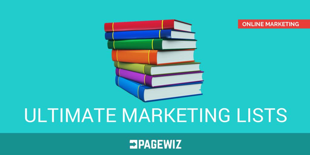 Ultimate List of Marketing Lists - Header