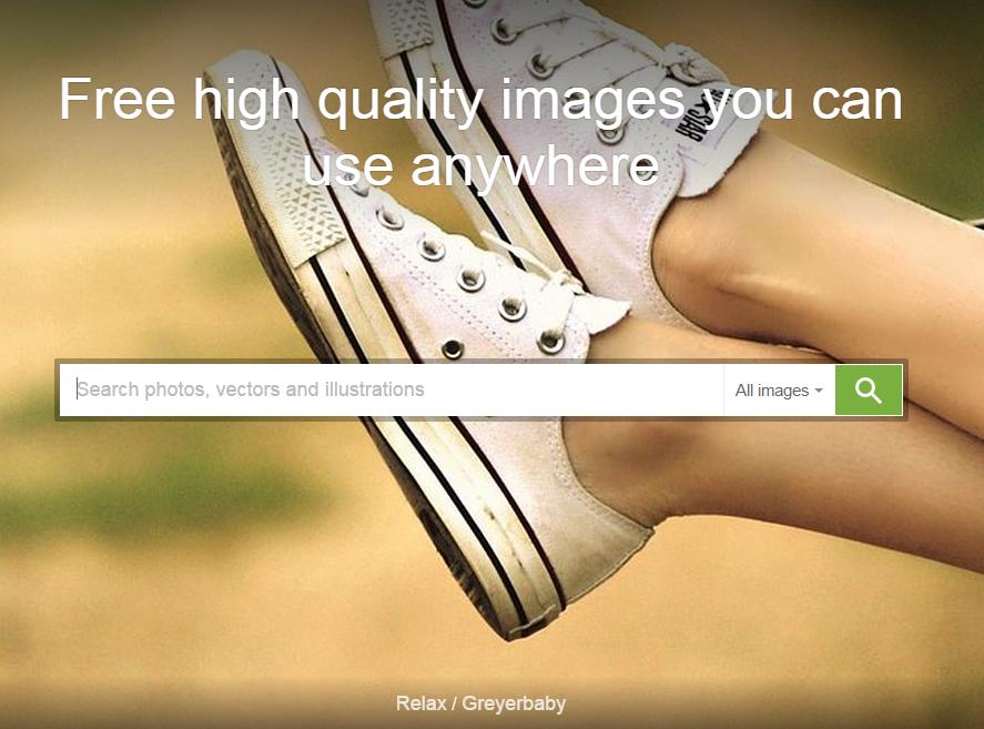 The Pixabay website