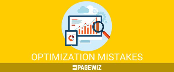 Optimization Mistakes