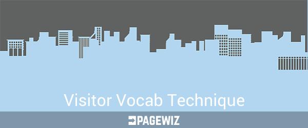 Visitor Vocab Technique