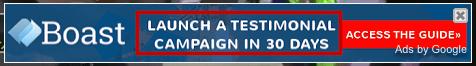 digital ad for Boast