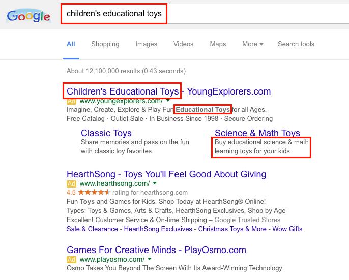 Google adwords ad copy rules рекламная кампания яндекс директ настройка