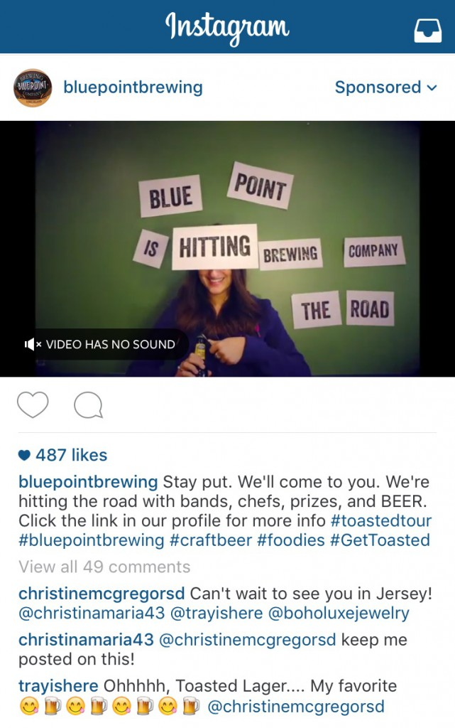 Blue Point Brewing Video Ad