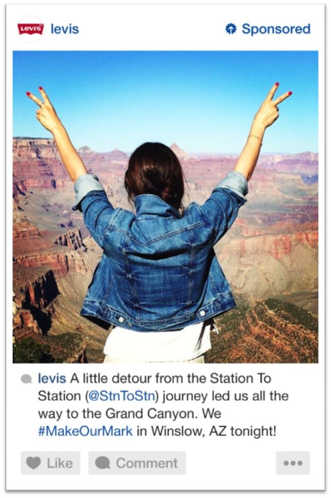 Levi's (2) Instagram ads