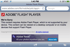 Conversion Unsupported Flash