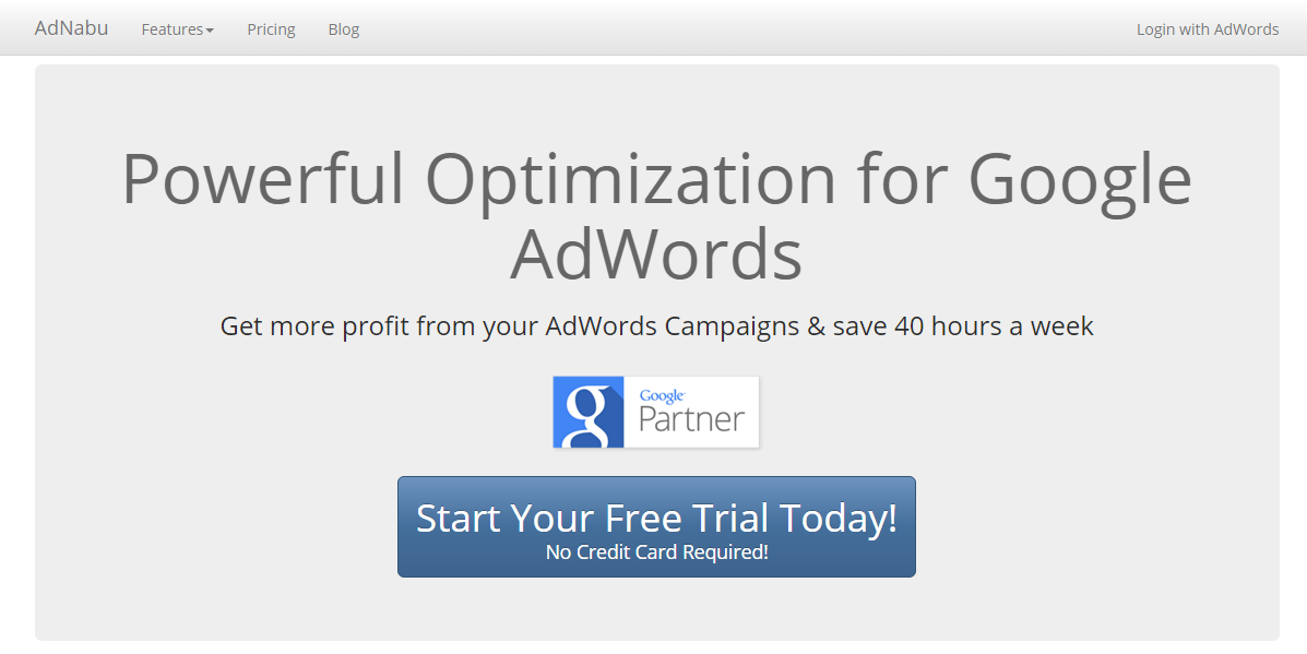 how to create new adwords account without credit card