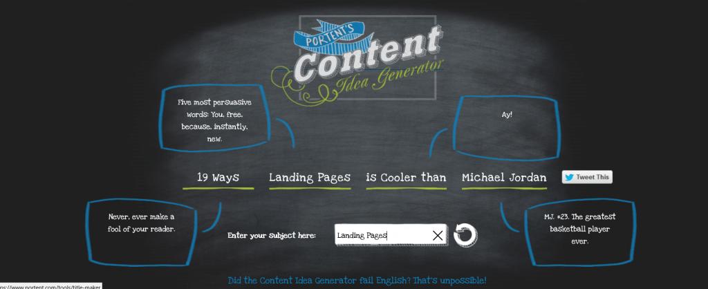 portent-content-generator 2 social media