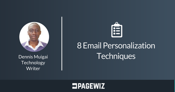 Pagewiz Writers email personalization