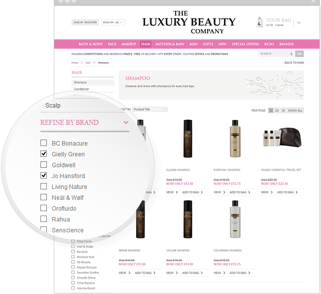 Luxury Beauty CRO