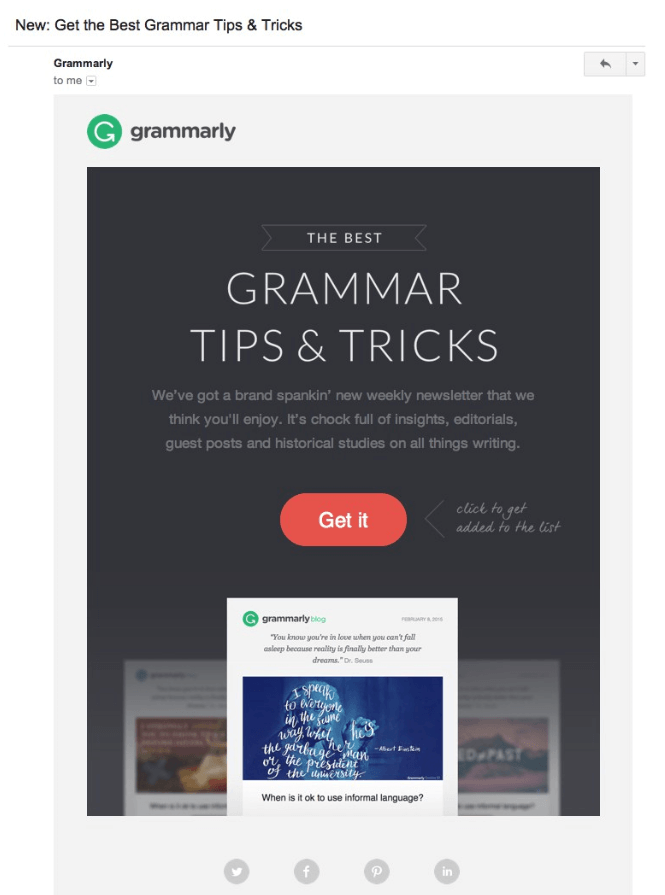 Grammarly Tips