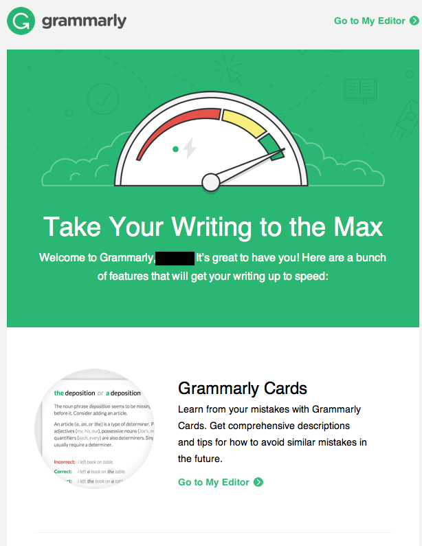 Grammarly Campaign