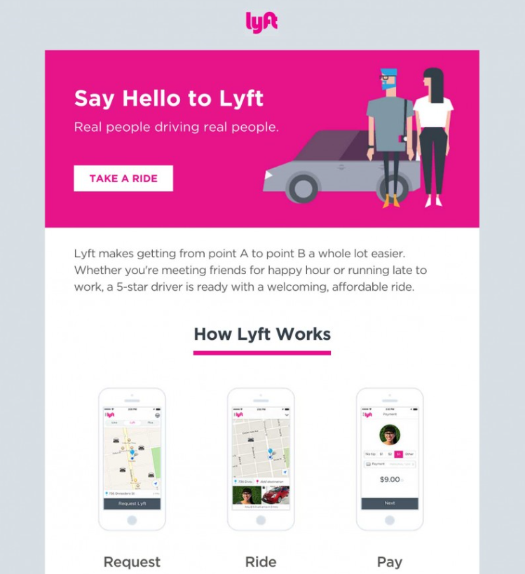 Uber - Lyft Welcome 1