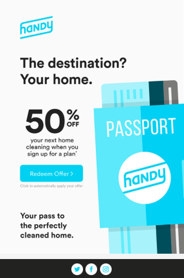 Landing Pages - Handy