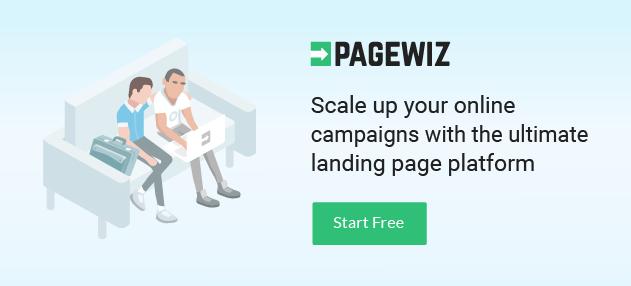 Pagewiz landing page platform