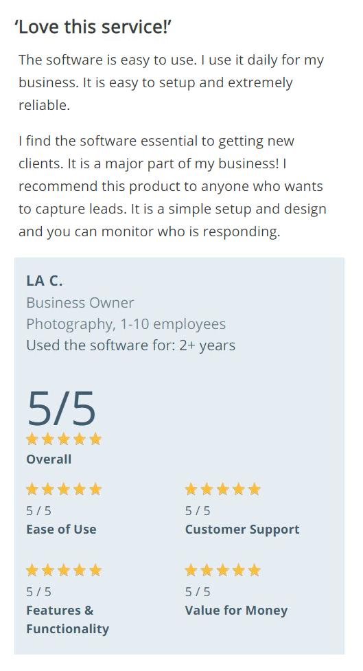 Pagewiz review - LA-C