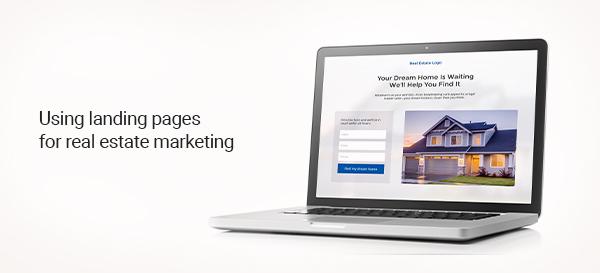 real estate landing page marketing